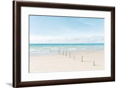 Ocean Pathway-Mike Toy-Framed Giclee Print