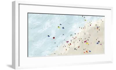 Beach Day - Shore-Kristine Hegre-Framed Giclee Print