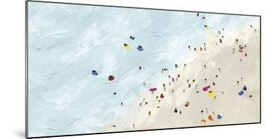 Beach Day - Shore-Kristine Hegre-Mounted Giclee Print