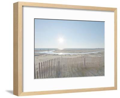 Beach Play-Mike Toy-Framed Giclee Print