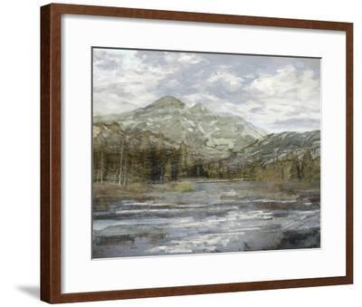 Peaceful Mountains-Mark Chandon-Framed Giclee Print