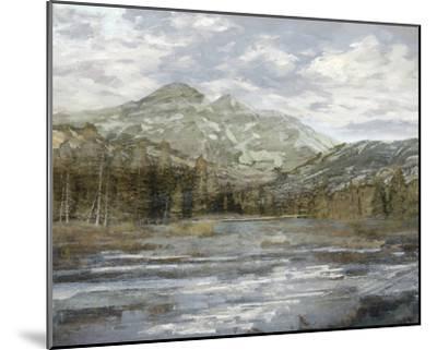 Peaceful Mountains-Mark Chandon-Mounted Giclee Print
