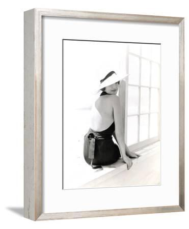 Sunbathing Chic-The Chelsea Collection-Framed Giclee Print