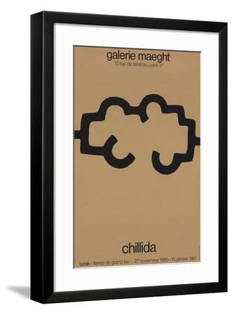 Galerie Maeght-Eduardo Chillida-Framed Collectable Print