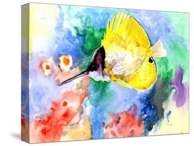 Coral Reef Fish 3-Suren Nersisyan-Stretched Canvas Print