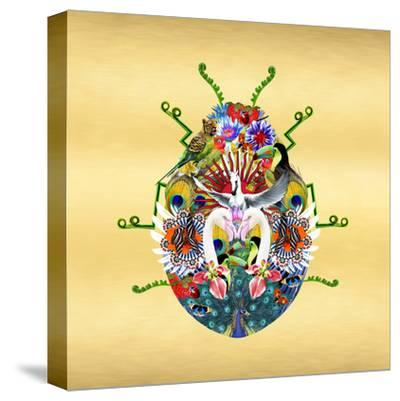 Fantasy World - Beetle-Amy Shaw-Stretched Canvas Print