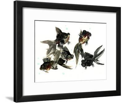 Black Moor Feng Shui-Suren Nersisyan-Framed Art Print