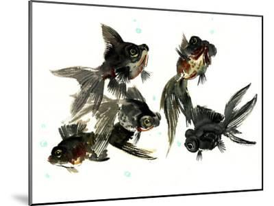Black Moor Feng Shui-Suren Nersisyan-Mounted Art Print