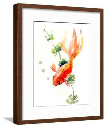 Goldfish 2-Suren Nersisyan-Framed Art Print