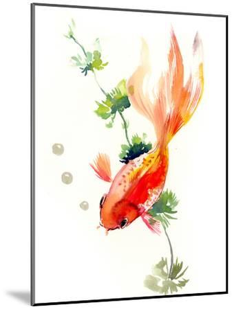 Goldfish 2-Suren Nersisyan-Mounted Art Print