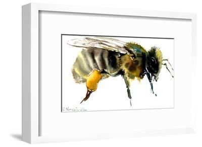 Honey Bee-Suren Nersisyan-Framed Art Print