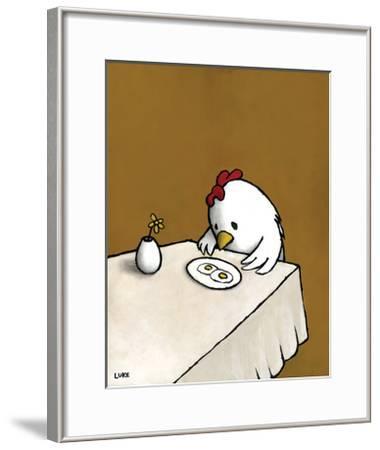 I Asked For Scrambled-Luke Chueh-Framed Art Print