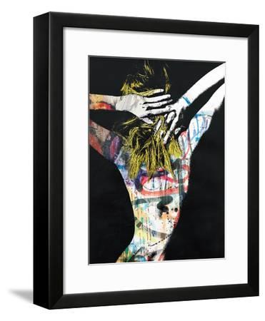 Blonde on Blonde-Alex Cherry-Framed Art Print