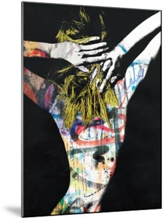 Blonde on Blonde-Alex Cherry-Mounted Art Print