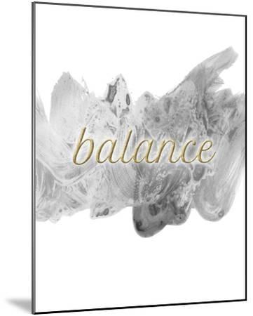 Balance-Lottie Fontaine-Mounted Giclee Print