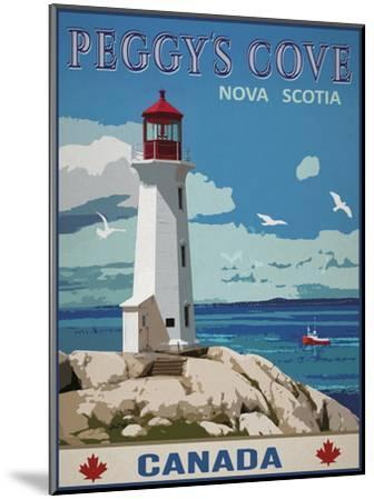 Peggy's Cove, Canada-Mark Chandon-Mounted Giclee Print