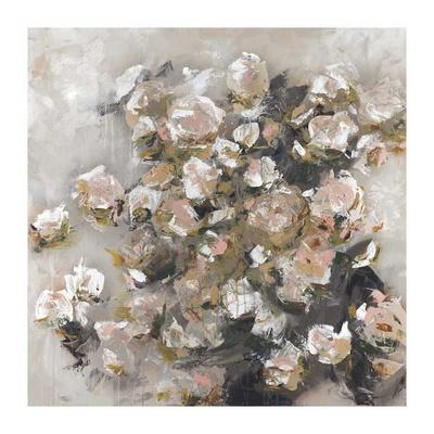 White Roses Were Her Favorite-Macy Cole-Framed Art Print