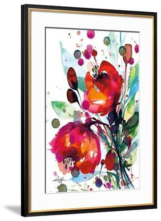 Floral Dream I-Kathy Morton Stanion-Framed Art Print