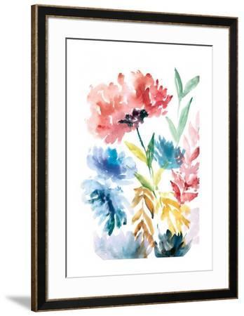 Lush Floral I-Rebecca Meyers-Framed Art Print