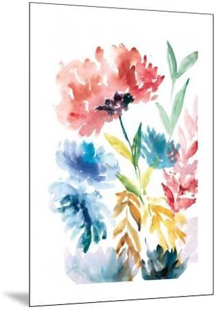Lush Floral I-Rebecca Meyers-Mounted Art Print