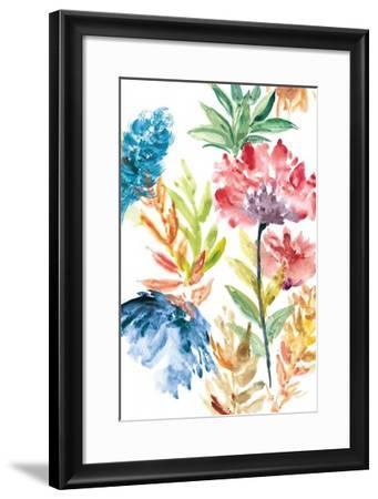Lush Floral II-Rebecca Meyers-Framed Giclee Print