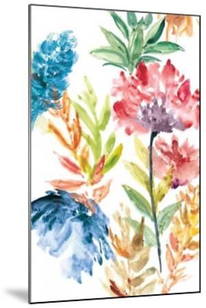 Lush Floral II-Rebecca Meyers-Mounted Giclee Print