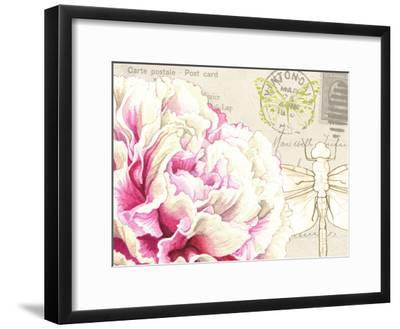 Carnation-Elizabeth Hellman-Framed Art Print