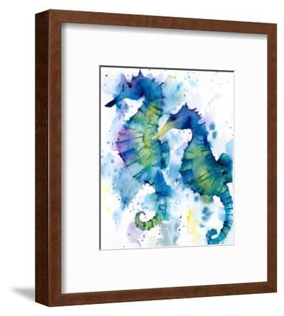 Seahorses-Rachel McNaughton-Framed Art Print