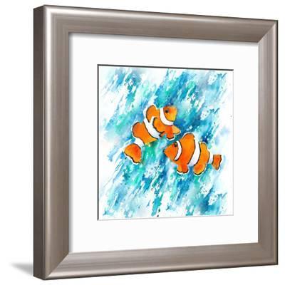 Clown Fish-Rachel McNaughton-Framed Art Print