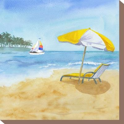 Lazy Days-Rachel McNaughton-Stretched Canvas Print
