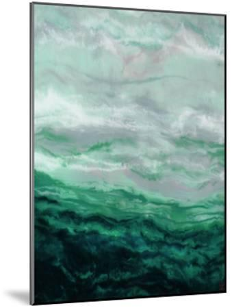 Green Waterfall I-Beverly Dyer-Mounted Art Print