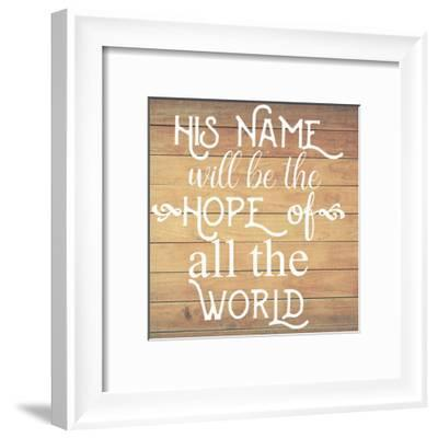 All The World-Jelena Matic-Framed Art Print