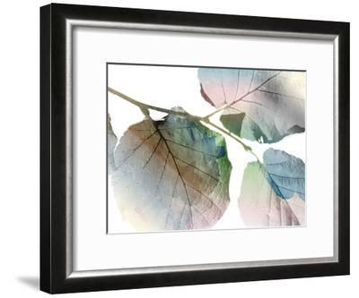 Land Ombre-Jace Grey-Framed Art Print