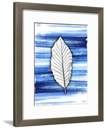 Brushstrokes 1-Kimberly Allen-Framed Art Print