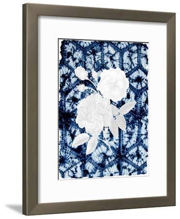 On Blue 1-Kimberly Allen-Framed Art Print