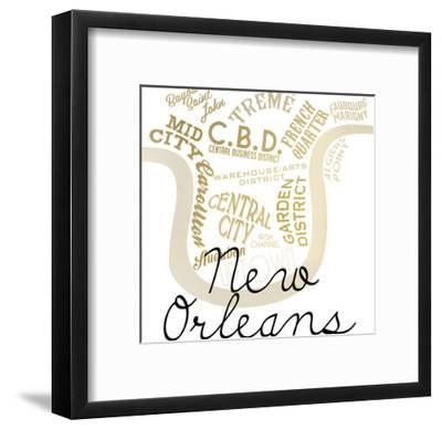 New Orleans-Kimberly Allen-Framed Art Print