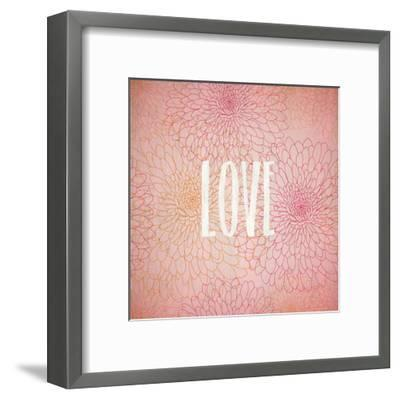 Blooming Pink 1-Kimberly Allen-Framed Art Print