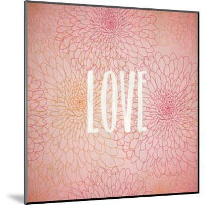 Blooming Pink 1-Kimberly Allen-Mounted Art Print