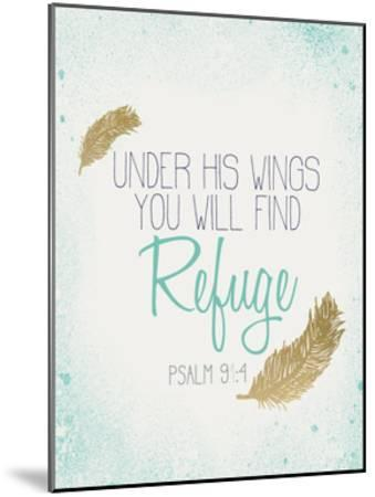 Under his Wings-Kimberly Allen-Mounted Art Print
