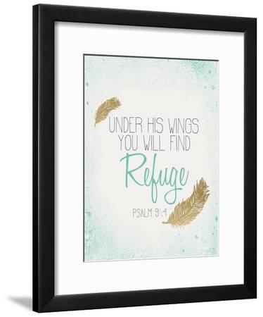 Under his Wings-Kimberly Allen-Framed Art Print
