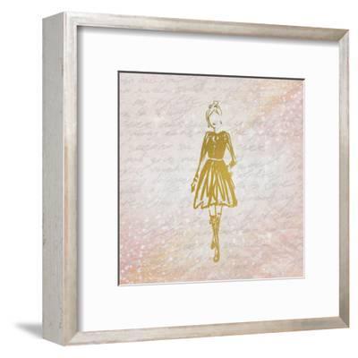 Glitter Fashion 3-Kimberly Allen-Framed Art Print