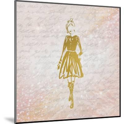 Glitter Fashion 3-Kimberly Allen-Mounted Art Print