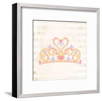 Princess for a Day 1-Kimberly Allen-Framed Art Print
