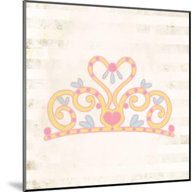 Princess for a Day 1-Kimberly Allen-Mounted Art Print