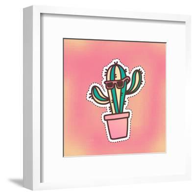 Cutout 3-Kimberly Allen-Framed Art Print