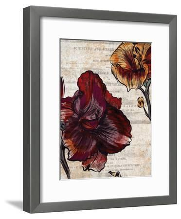 Brilliant Blooms 1-Kimberly Allen-Framed Art Print