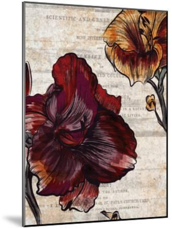 Brilliant Blooms 1-Kimberly Allen-Mounted Art Print