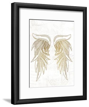 Wings 1-Kimberly Allen-Framed Art Print