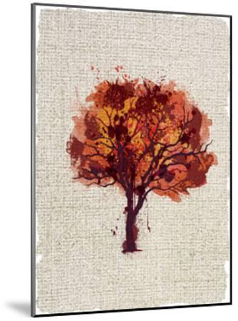 Splatter Trees 2-Kimberly Allen-Mounted Art Print