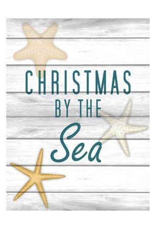 Christmas by the Sea 2-Kimberly Allen-Framed Art Print